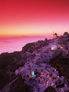 Santorini - Places I want to visit.