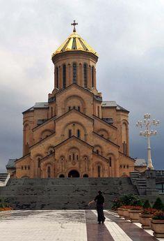 ღღ Holy Trinity Cathedral (Tbilisi, Georgia) by ryno ~~~  Tbilisi, Capital of Georgia Tbilisi, formerly known as Tiflis, is the capital and the largest city of Georgia, lying on the banks of the Kura River with a population of roughly 1.5 million inhabitants. Wikipedia