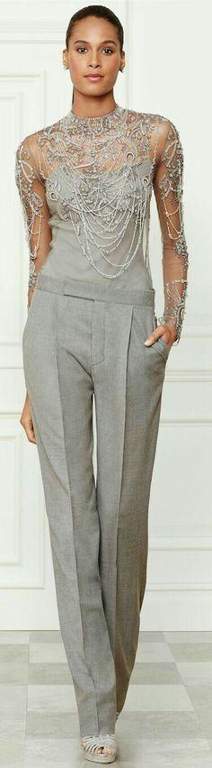 Stunning gray formal design