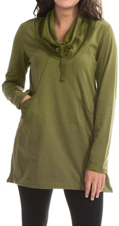 e05c8420efe23f Neon Buddha Stretch Jersey Fanciful Slub Tunic Shirt (For Women) Long  Sleeve Shirts