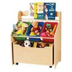 Tot Tutors Store-All Unit $68.99, Target.com - Great for storing children's paperbacks, toys, etc.