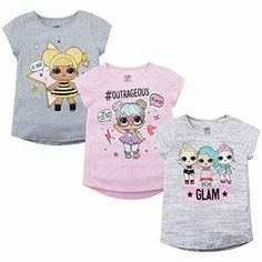 Check out the hottest selection of LOL Surprise gift ideas! We've put together a list of 99 unique LOL Surprise products that any girl would love! Princess Fancy Dress, Princess Outfits, Fancy Costumes, Halloween Fancy Dress, Baby Girl Shirts, Kids Shirts, Baby Dolls For Kids, Baby Queen, Lol Dolls