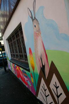Eye Candy Festival wall art... #SAMPIERPOINT #ILLUSTRATION