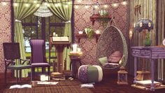 Very cute design made in the Sims 3 by plumbology