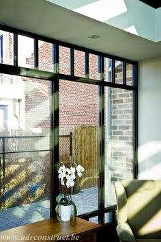 Aluminium veranda Steel Look, woonveranda by ADR Construct, via Flickr