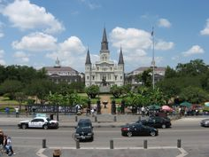 Jackson Square in New Orleans, really great view from across the street.