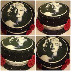 Marilyn Monroe birthday cake by SugarFetishCakery