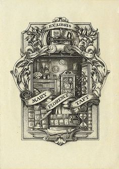 [Bookplate of Mary Florence Taft] | by Pratt Institute Library