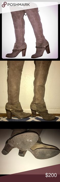 Miss Sixty melody boots brown Rag And Bone dupe Miss Sixty melody boots desert brown rag & bone Shoes Over the Knee Boots