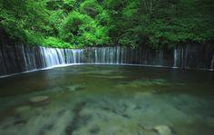 Shiraito Falls 白糸の滝 @ Fujinomiya, Shizuoka Prefecture 静岡県, Japan