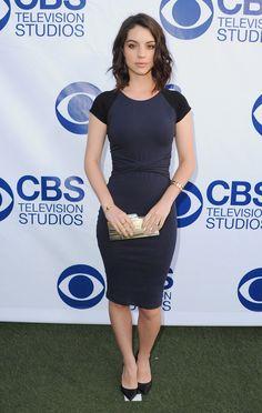 Reign's Adelaide Kane at CBS Celebtrates Summer Soirée