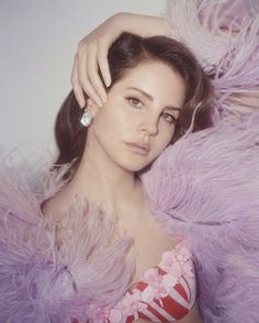Lana Del Rey photographed by Charlotte Wales for Dazed Magazine, 2017.