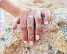 1pc Hot european punk ring woman unique vintage silver bee slave chain midi finger rings womens anel jewelry gift