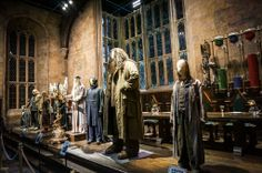 London England, Warner Brothers Harry Potter Studios, The Great Hall