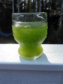 Sumin sörsselit: Vihreä vitamiinipommi mustaherukanlehdistä Hurricane Glass, Tableware, Dinnerware, Tablewares, Dishes, Place Settings