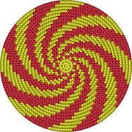 """The location where building and construction meets style, beaded crochet is the act of using beads to decorate crocheted products. """"Crochet"""" is derived fro Mochila Crochet, Crochet Tote, Crochet Purses, Crochet Chart, Bead Crochet, Crochet Bedspread Pattern, Tapestry Crochet Patterns, Crochet Stitches Patterns, Beaded Banners"""