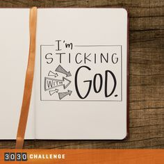 I'm Sticking with God