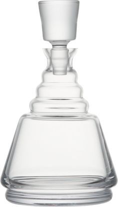 Wells Decanter in Pitchers and Decanters   Crate and Barrel