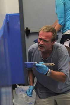 Painting the Walls and Stairwells at St. Ignatius Middle School in the South Bronx – August 2014