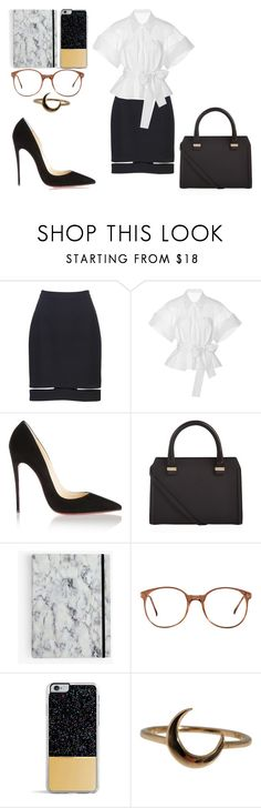 """Classic"" by alexandrakorzova on Polyvore featuring мода, Alexander Wang, Alexis, Christian Louboutin, Victoria Beckham, American Apparel, Forever 21 и Lulu Frost"
