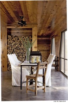 McAlpine Booth Ferrier Interiors » Camp at the Ridge
