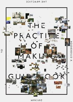 the practice of making a guidebook.