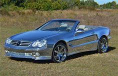 All-Chrome Mercedes-Benz Convertible Auctions for $155,000