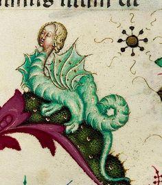 The Child Dragon (Chambéry, BM, MS 4)