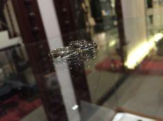 マリッジリング pt900&silver