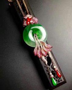 @taiwan_kunlun_jewelry.  #jade #jadeite