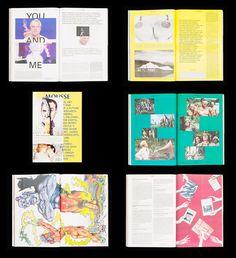mousse magazine layout - Google Search