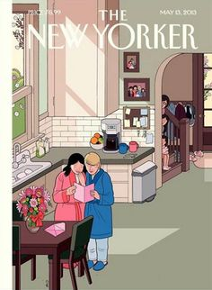 This week's New Yorker cover queers Mothers' Day.