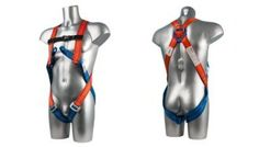 Full Body 2 Point Harness. From the Capital Workwear Fall Arrest Systems Range. PPE Safety. Lightweight harness with a sliding dorsal D-Ring. Features two chest loops and an adjustable quick release chest strap. Constructed using polyester webbing straps.   •Lightweight.  •Easy to use and adjust.  •Quick release buckle.  •Chest loops.  •Certified to EN361.
