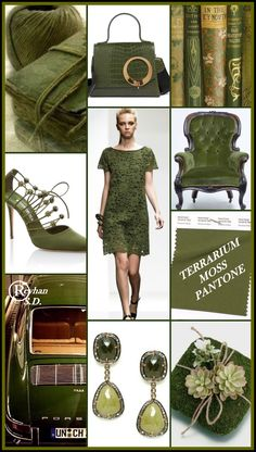 Terrarium Moss - Pantone Spring/ Summer 2019 Color '' by Reyh. - Pantone 2019 Spring/ Summer Colors from NYFW & LFW wedding Terrarium succulentes Terrarium Wedding, Moss Terrarium, Color Trends, Color Combinations, Color Schemes, White Room Decor, Trend Fashion, Moss Fashion, Fashion 2018