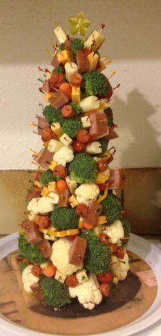 Mi versión de botana navideña saludable / My healthy christmas snack version..!