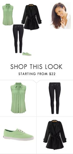 """Doctor who companion: Tiana"" by ilovecats-886 ❤ liked on Polyvore featuring mode, H&M, Keds en WithChic"