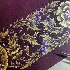 Detail.. #illumination #design #handmade #gold #islamicart #artwork #mywork #istanbul #turkey