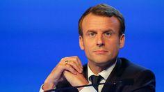 Le président Emmanuel Macron le 23 novembre 2017, à Versailles près de Paris