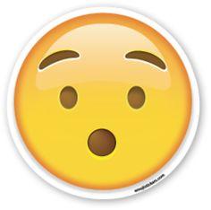 Hushed Face | Emoji Stickers