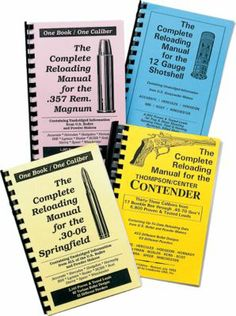 Loadbooks USA Caliber/Gauge Specific Reloading Manuals : Cabela's