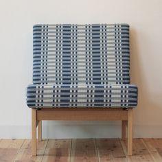 Futaba original sofa, textile Johanna Gullichsen