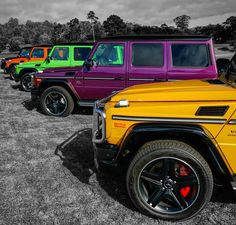 "「 Mercedes-Benz G63 AMG ""Nuthin but a G thang"". Mercedes-AMG M157 V8 biturbo engine 5.5L 571HP and 760Nm of Torque. Handcrafted by Michael Kübler @f1mike28… 」"