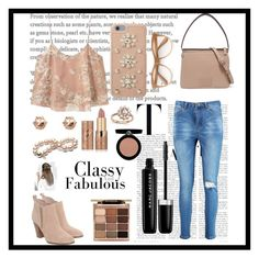 """""""Classy and Fabulous By: panda59"""" by natswim16 ❤ liked on Polyvore featuring Boohoo, MANGO, Michael Kors, Marc by Marc Jacobs, MICHAEL Michael Kors, Wildfox, River Island, Bloomingdale's, tarte and Stila"""