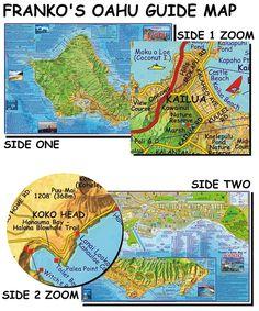 Polynesian Cultural Center Map Hawaii Trip Pinterest