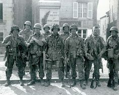 Ste. Marie du Mont, Normandy, France.  Easy Company and the 101st Airborne captured and occupied on D-Day.