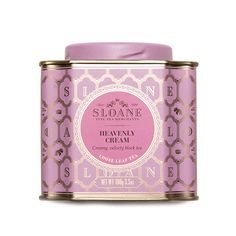 HEAVENLY CREAM - $18.00 from Sloane Tea Company http://sloanetea.com/products/heavenly-cream