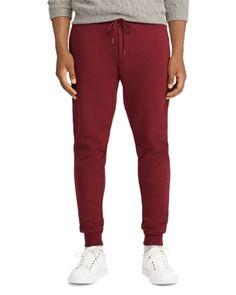 Polo Ralph Lauren Men's Double-Knit Jogger Pants - Classic Wine S Red Joggers, Jogger Pants, Polo Ralph Lauren, Jogging, Tracksuit Bottoms, Tech Fleece, Double Knitting, Mens Clothing Styles, Sportswear