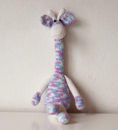 Amigurumi Giraffe Żyrafa Raffa