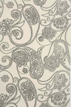 Paisley Dot Wallpaper - Urban Outfitters