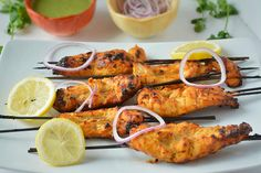 Step by step Kalmi Kabab recipe. How to make juicy and tender Chicken Kalmi Kebab .Deliciously oven baked boneless chicken kebab recipe. Tandoori chicken recipe.